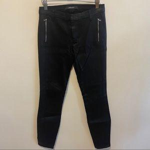 JBrand Coated Black Skinny Jeans Sz 27